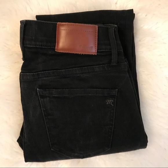 Madewell Denim - Madewell black skinny jeans